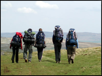 dofe group walking